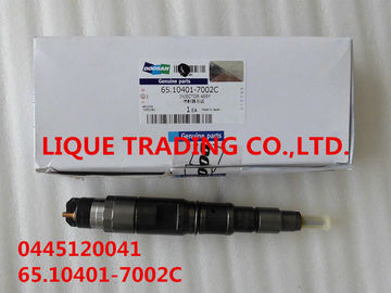 BOSCH Common rail injector 0445120041 , 0 445 120 041 for DAEWOO DOOSAN DV11 65.10401-7002C , 65.10401-7002