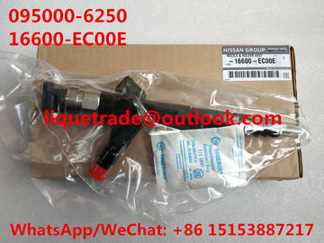 China DENSO common rail injector 095000-6250 for NISSAN Navara 16600-MB40E , 16600-EB70A ,16600-EB70D factory