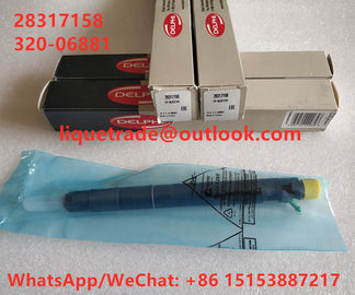 China DELPHI  Common rail injector  28317158 , 32006881 , 320-06881 , 320 06881 factory