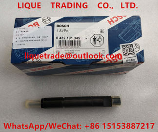 China BOSCH fuel injector 0 432 191 345 , 0432191345 ,  432 191 345 for Deutz engine factory