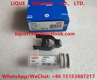 China DELPHI NOZZLE VALVE KIT 7135-618 , 7135 618 , 7135618 , include (nozzle L199PRD + valve 28278897 ) factory
